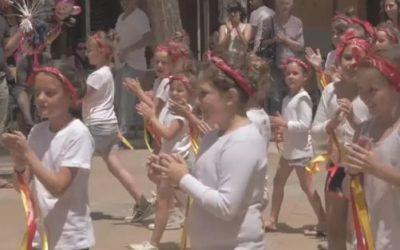 Flashmob du collège Plaza del Parque
